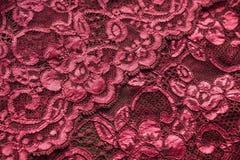 Fond rose de lacet images stock
