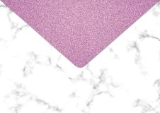 Fond rose de marbre de scintillement, texture de scintillement de miroitement, photographie stock libre de droits