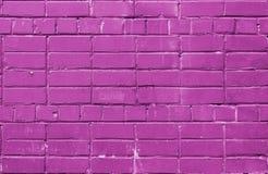 Fond rose de mur de briques Images libres de droits