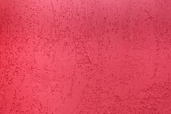 Fond rose de plâtre Photos libres de droits