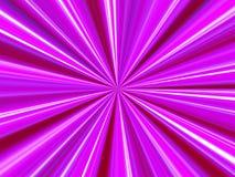 Fond rose de rayon Image libre de droits