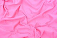 Fond rose de textile Photos stock
