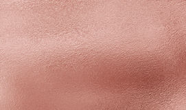 Fond rose de texture de feuille d'or Images libres de droits