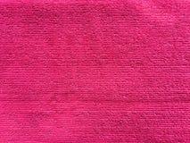 Fond rose de texture de textile de serviette Photos stock
