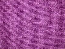Fond rose de texture de tissu de toile de jute Images stock