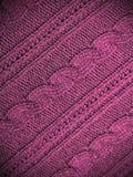 Fond rose de tissu Images libres de droits