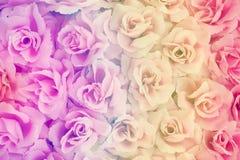 Fond rose de tissu Photos libres de droits