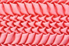 Fond rose de tissu Images stock