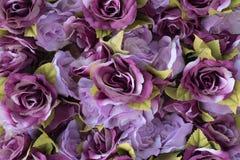 Fond rose de tissu pourpre Images libres de droits