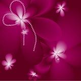 Fond rose foncé Images libres de droits