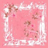Fond rose, vecteur Images libres de droits