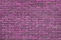 Fond rose vibrant de mur de briques, papier peint Briques roses modèle, texture images libres de droits