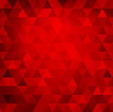 Fond rouge abstrait Image stock
