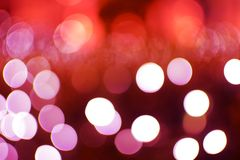 Fond rouge abstrait de Bokeh Photo stock