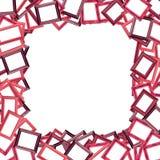 Fond rouge abstrait de trame de photo Photographie stock libre de droits