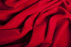 Fond rouge abstrait de velours Photos stock