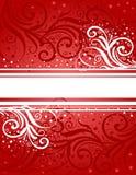 Fond rouge-blanc abstrait Illustration de Vecteur
