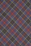 Fond rouge, bleu, pourpre et jaune de tissu de plaid photos stock