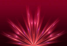 Fond rouge-clair Images libres de droits