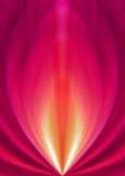 Fond rouge coloré Image libre de droits