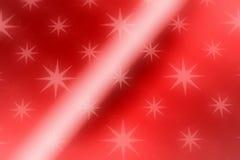 Fond rouge d'étoile Image libre de droits