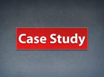 Fond rouge d'abrégé sur bannière d'étude de cas illustration libre de droits