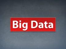 Fond rouge d'abrégé sur bannière de Big Data illustration de vecteur