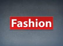 Fond rouge d'abrégé sur bannière de mode illustration stock