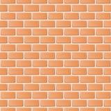 Fond rouge d'illustration de mur de briques illustration libre de droits