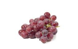 Fond rouge de blanc de résultat de fruit Photos libres de droits