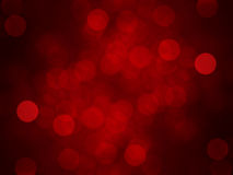 Fond rouge de bokeh Images stock