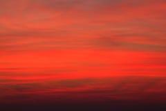Fond rouge de ciel Images libres de droits
