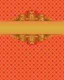 Fond rouge de cru illustration stock