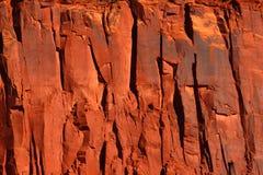 Fond rouge de falaise photo libre de droits
