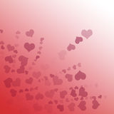 Fond rouge de gradient Image stock