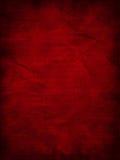 Fond rouge de grunge de cru Images stock