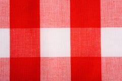 Fond rouge de guingan Photos libres de droits