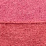 Fond rouge de laines Photos stock