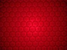Fond rouge de modèle Image libre de droits