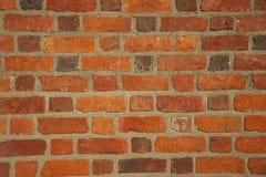 Fond rouge de mur de briques avec l'espace de copie Photos stock