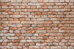 Fond rouge de mur de briques photos libres de droits