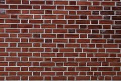 Fond rouge de mur de briques - modèle de texture Image libre de droits