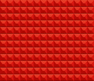 Fond rouge de mur de texture Photo libre de droits