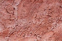 Fond rouge de mur en béton Photo stock