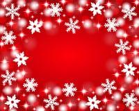 Fond rouge de Noël Images stock