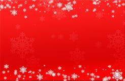 Fond rouge de Noël photo stock