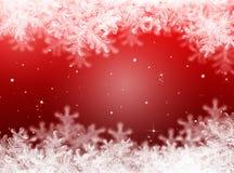 Fond rouge de Noël Fond d'an neuf Image libre de droits