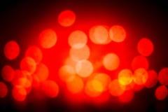 Fond rouge de Noël Le vintage de scintillement allume l'esprit de fond Photographie stock libre de droits