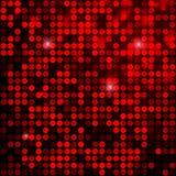 Fond rouge de paillettes de scintillement d'étincelle Images stock