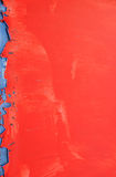 Fond rouge de peinture Photos stock
